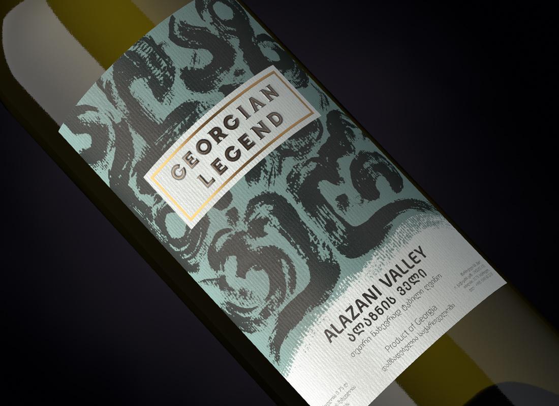 Wine Georgian Legend